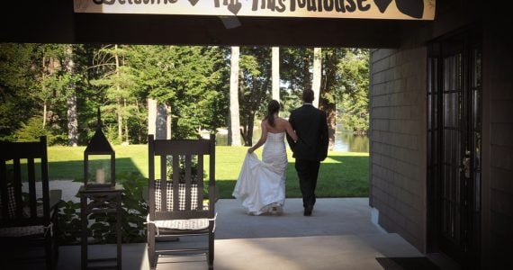 Brianna's Wedding Dress Preservation in Maine