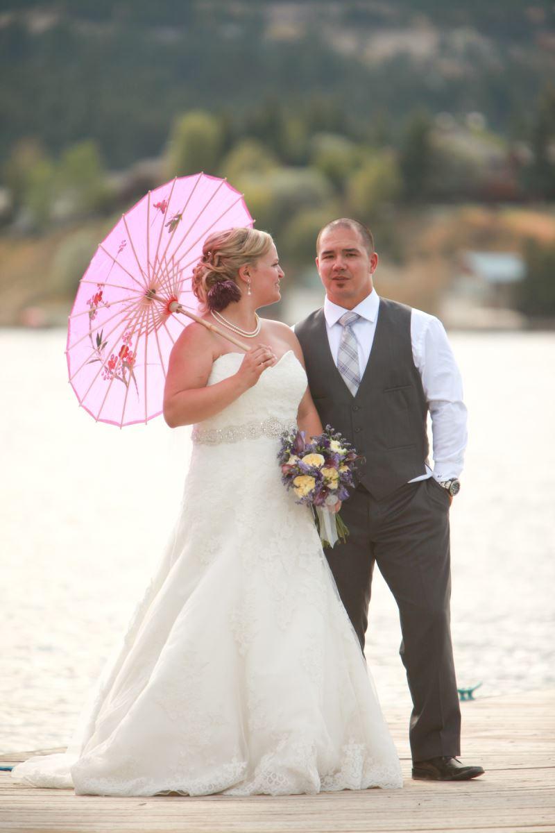 Stephanie's Wedding Gown Preservation in Alberta, Canada