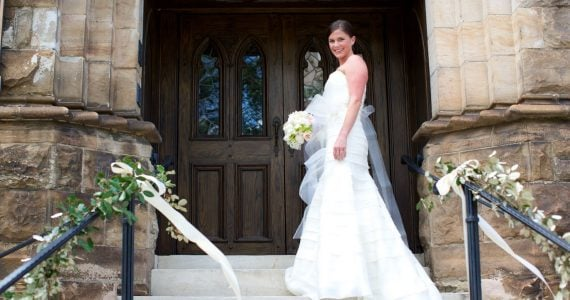 Julia's Wedding Dress Preservation in North Carolina