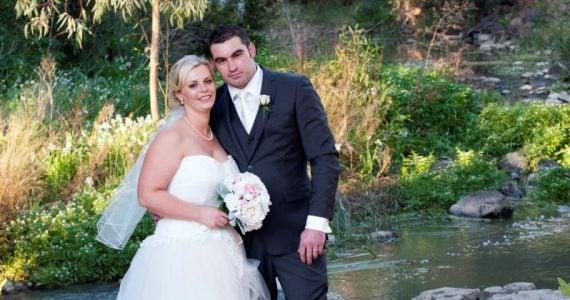 Sarah's Wedding Gown Preservation in Gisborne, Australia