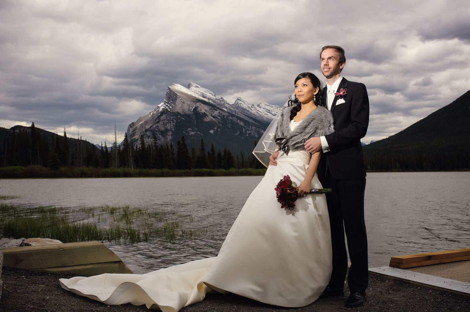 Esther's Wedding Dress Preservation in Alberta