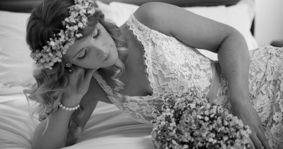 Emma's Wedding Gown Preservation in Gisborne, Australia