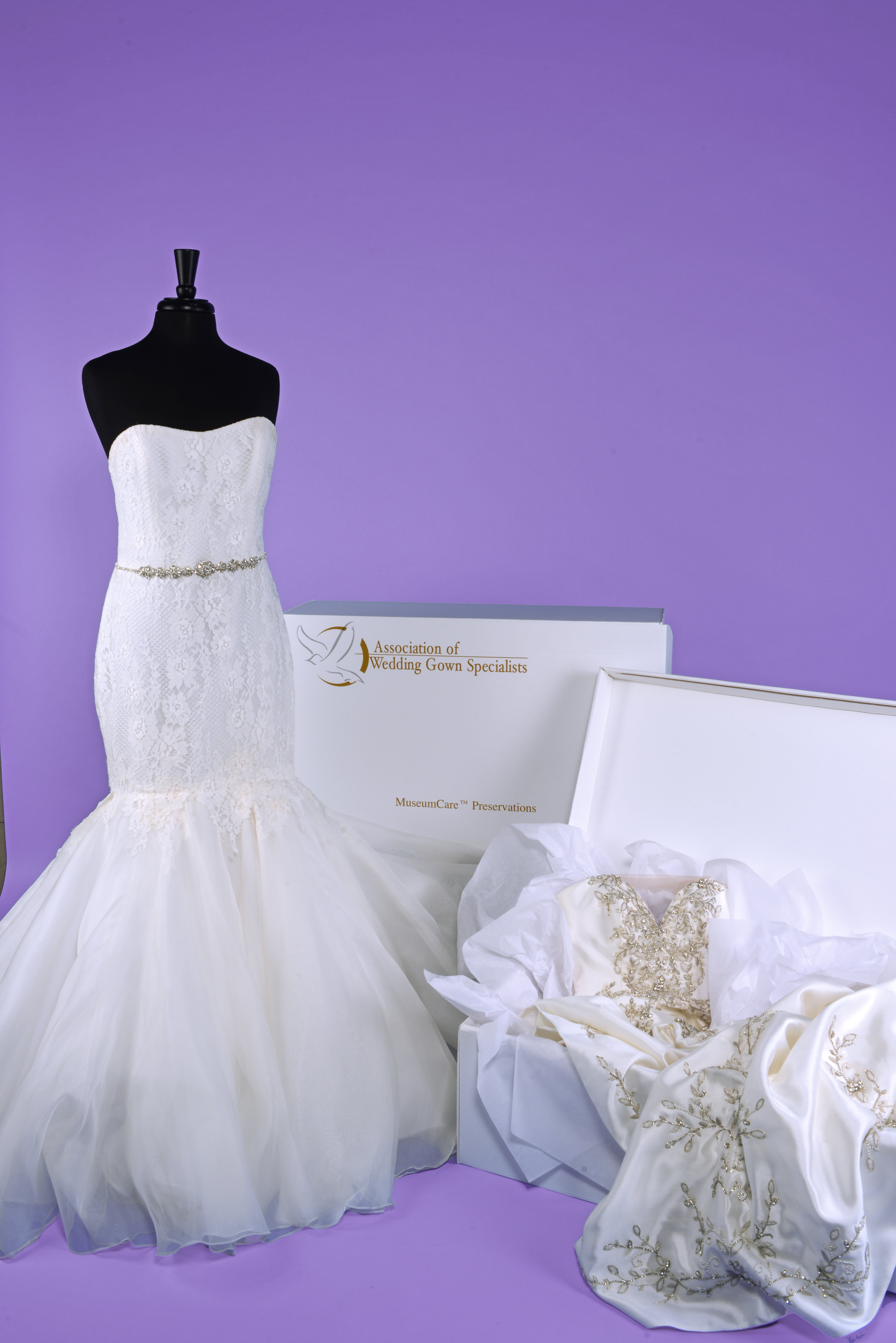Wedding gown specialists preservations
