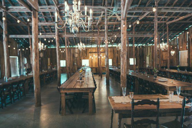 Real Bride Shelby's wedding venue in Nashville, TN.