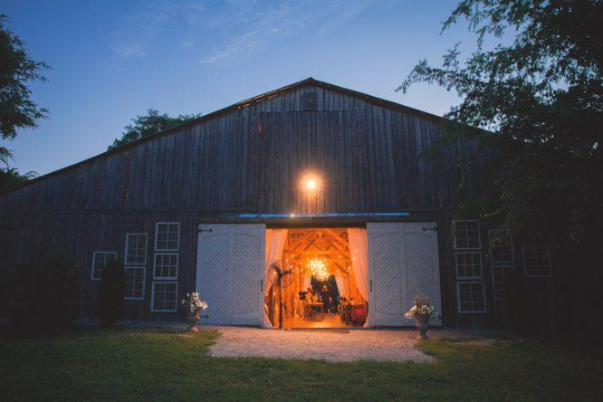 Real bride Shelby's post wedding ceremony reception location.